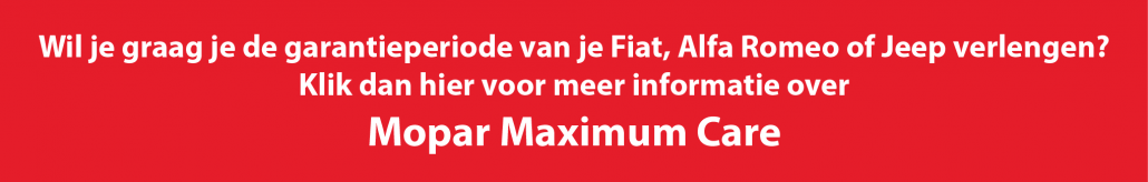 De voordelen van een servicecontract Mopar Maximum Care