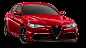 Alfa Romeo Giulia Rood