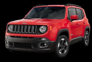Jeep Renegade rood