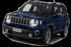 Jeep Renegade blauw